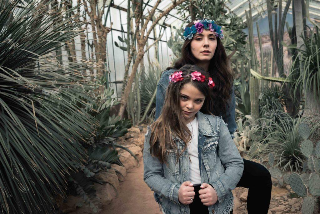 Jumelles soeurs famille tirage numérique lyon croix rousse
