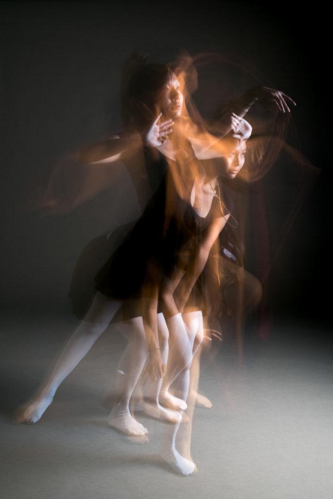 Dance photographie région lyonnaise flou de mouvement