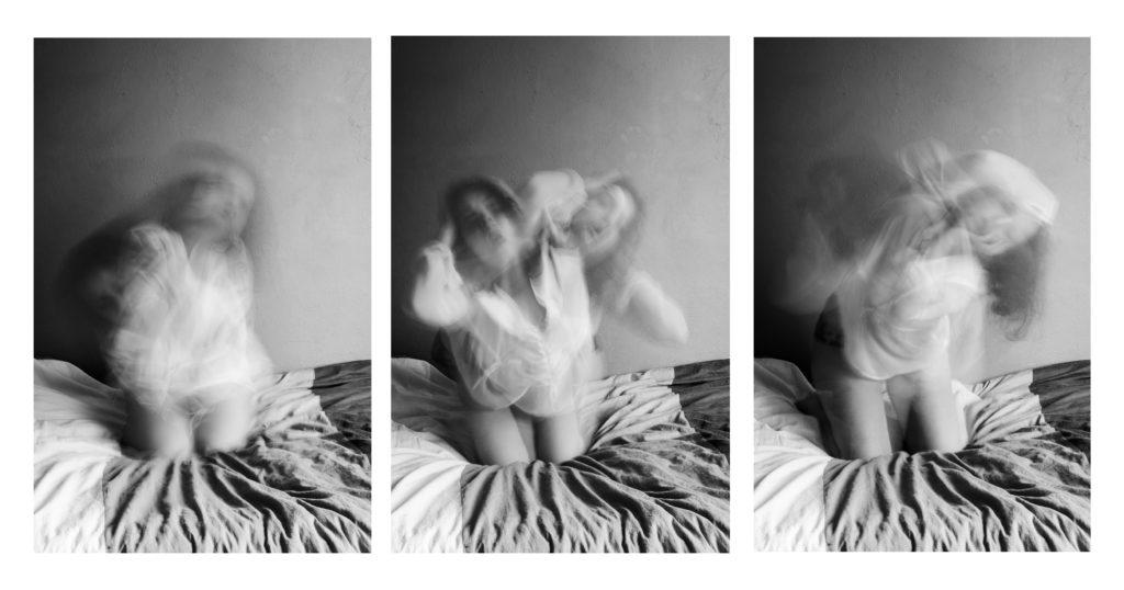 photo flou mouvement noir et blanc lyon photographie