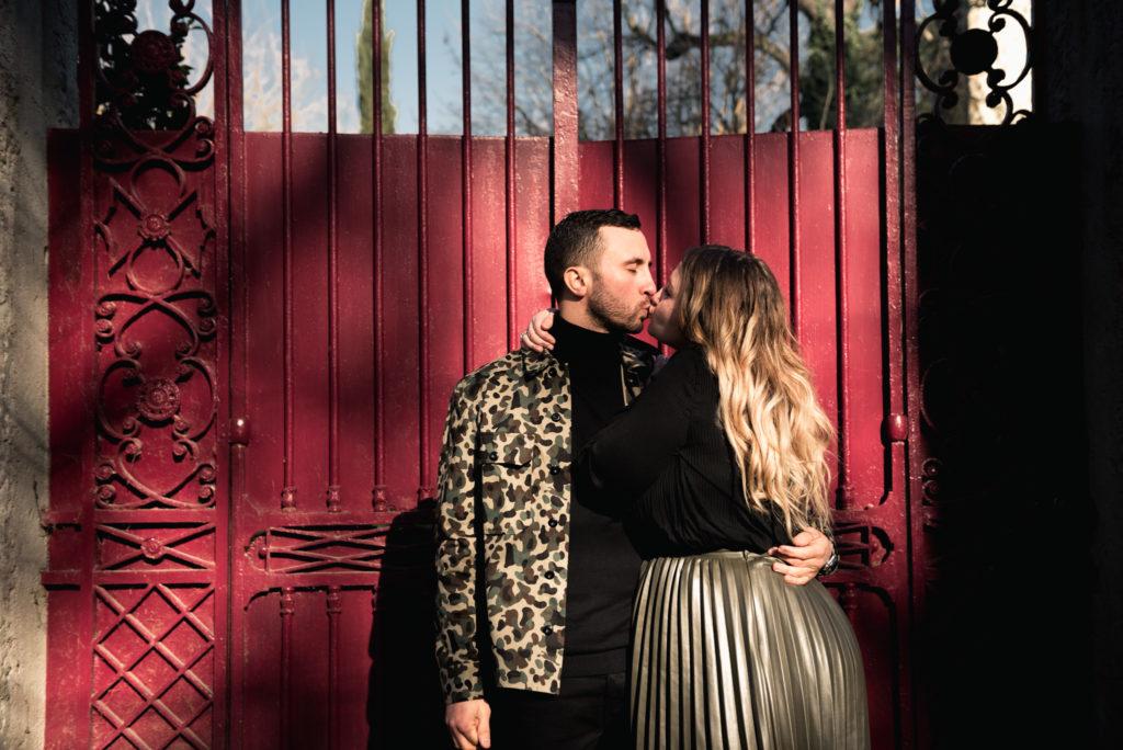 amour embrasser couple prise de vue tirage numérique lyon sainte-foy-les-lyon vaugneray